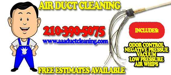 "AAA Duct Cleaning "" your air duct cleaning experts"" provides quality air duct cleaning and free estimates to the San Antonio Texas metro areas. Our professional technicians will evaluate how to clean your air duct system San Antonio and provide the best indoor air quality available for your home at affordable prices.AAA Duct Cleaning's Air duct cleaning process includes odor control, negative pressure vacuum, low-pressure air whips all in an effort to improve your homes indoor air quality at an affordable price San Antonio."
